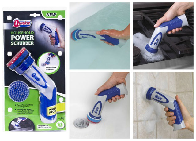 review the quickie power scrubber makes the dirtiest cleaning jobs easy