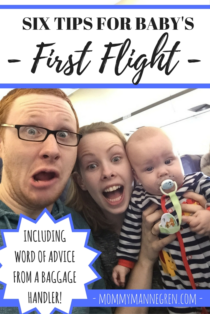 Six Tips for Baby's First Flight
