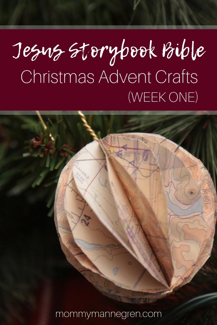 Jesus Storybook Bible: Advent Crafts Week One