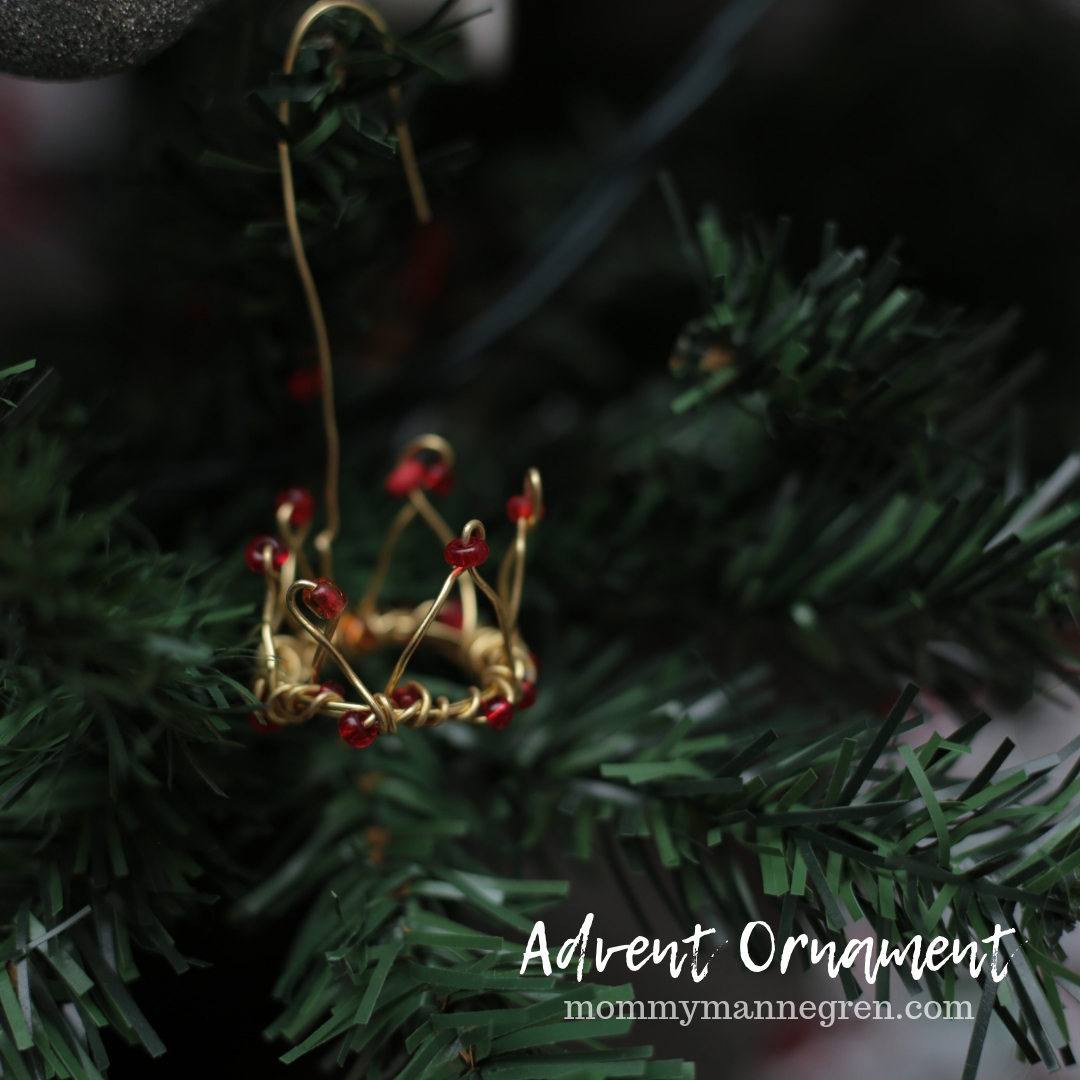 Advent Ornament: Crown