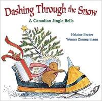 Suggestion for children's book advent calendar: Dashing Through the Snow book