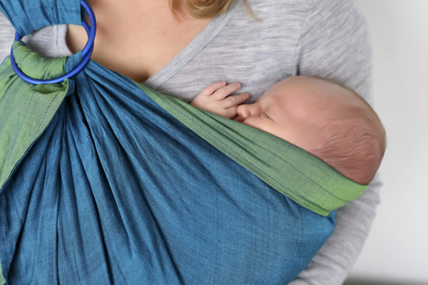 What Do You Do When Your Newborn Only Sleeps in a Carrier or Sling?