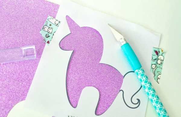 printable unicorn bookmarks # 76