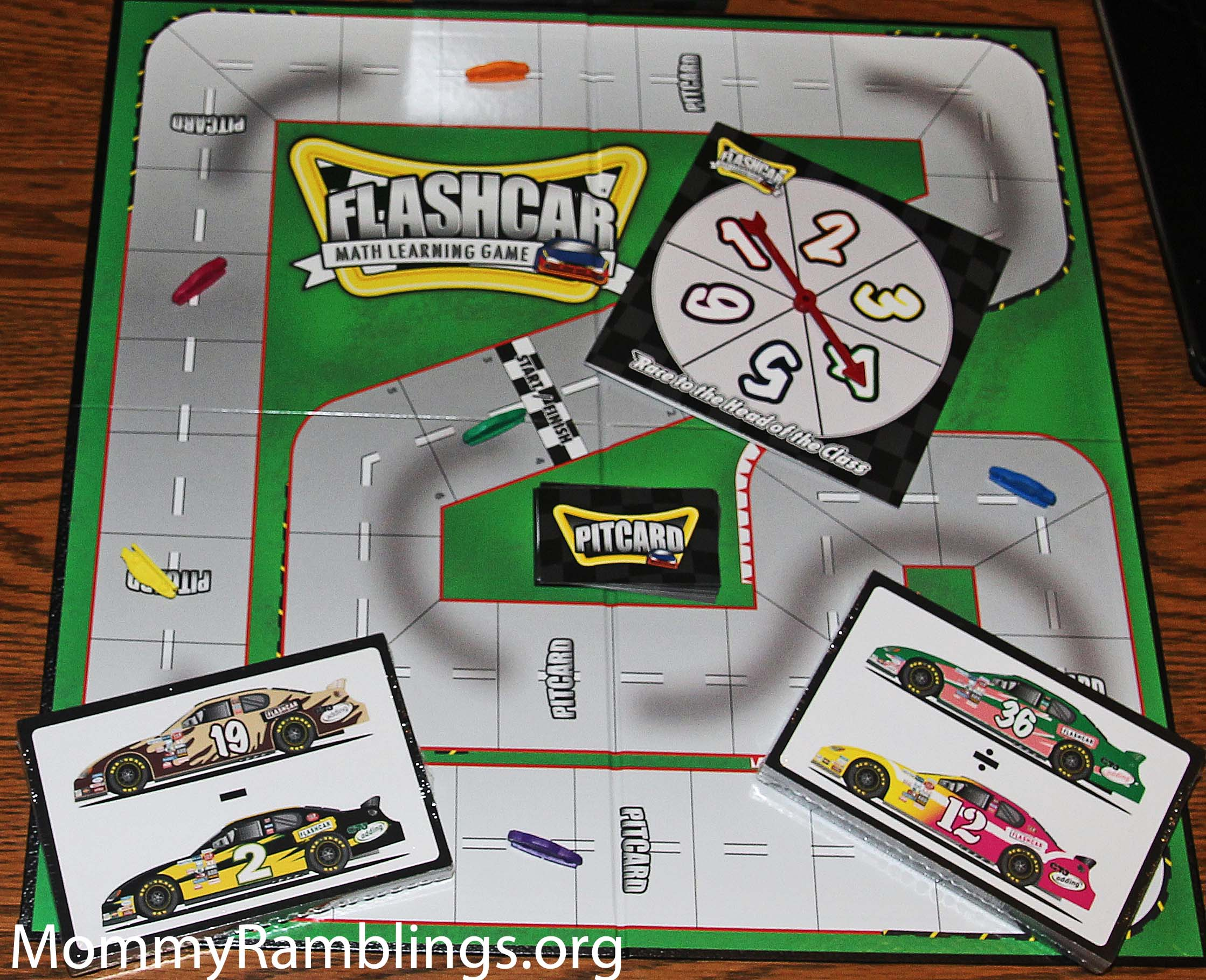 Banner Industries Flashcar Math Learning Board Game Review