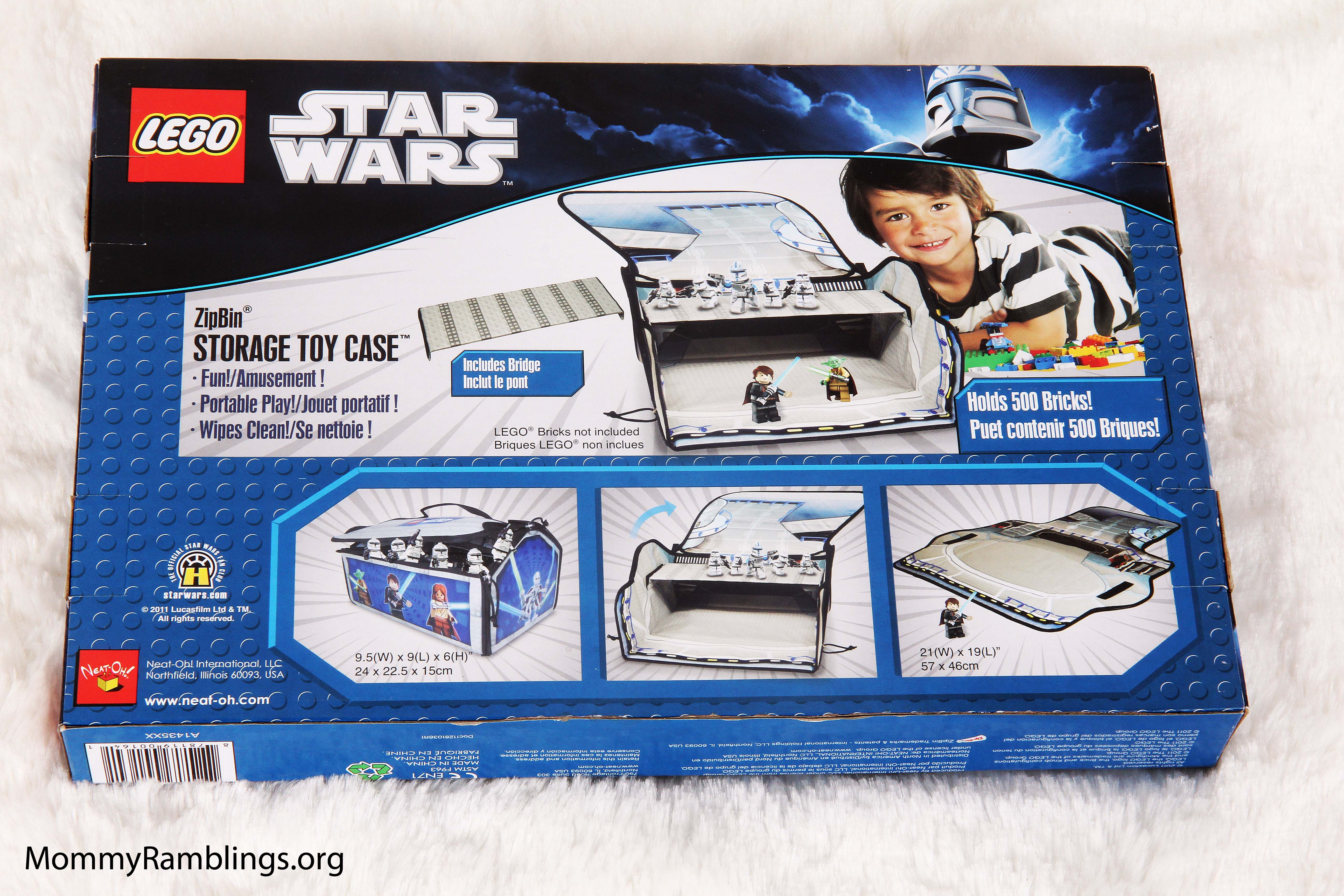 ... Your Defeated Enemies Away For Another Day Of Galactic Battle, The LEGO®  Star Wars™ ZipBin® Battle Bridge Carry Case U0026 Playmat Makes The Perfect  Storage ...