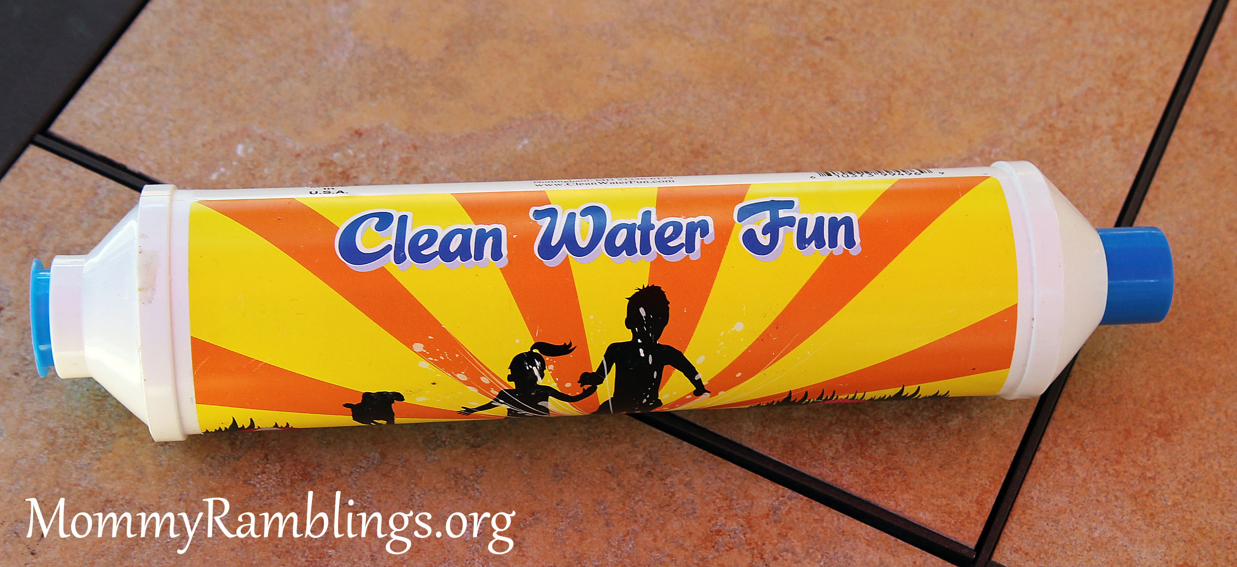 Clean Water Fun Garden Hose Filter Review Giveaway 10 Off Coupon Code Mommy Ramblings