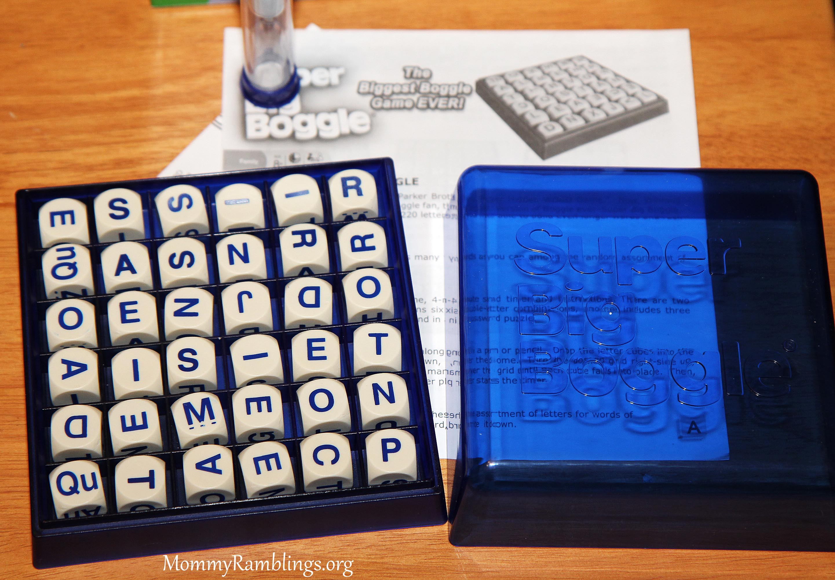 Winning Moves Games Super Big Boggle Review And Giveaway Mommy