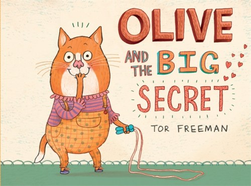 Olive and the Big Secret cover