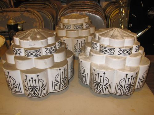 Some Art Deco Light Fixtures that went for a pretty price but again that I would not look twice at.