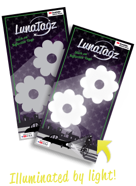 LunaTagz Illuminated By Light
