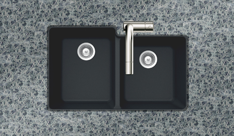 Houzer Black Sink
