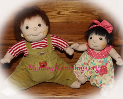 Little Meiya and Emil