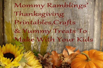 Thanksgiving Crafts Logo