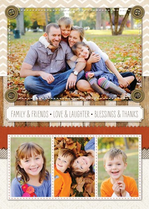 Treat Happy Thanksgiving Card