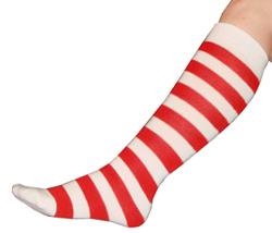 White-Red-Striped-Socks-361
