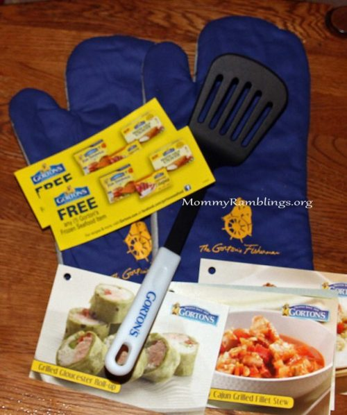 Giveaway winner will win a prize pack like this from Gorton's!!!