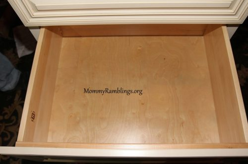 Beautiful Drawers and Love The Soft Close Glides.
