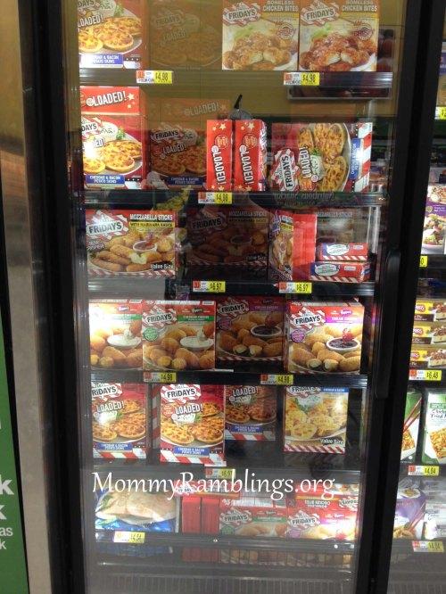 Walmart Store- T.G.I Friday's- Frozen- Snacks- #TGIFGameDay- #Cbias- #Shop