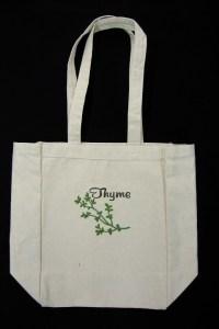 tote bag thyme bag