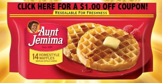 Aunt-Jemima-Waffle-Coupon-#4MoreWaffles-#cbias-