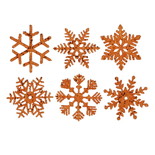 King of Christmas Snowflake Ornaments
