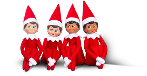 Elves-On-The Shelf