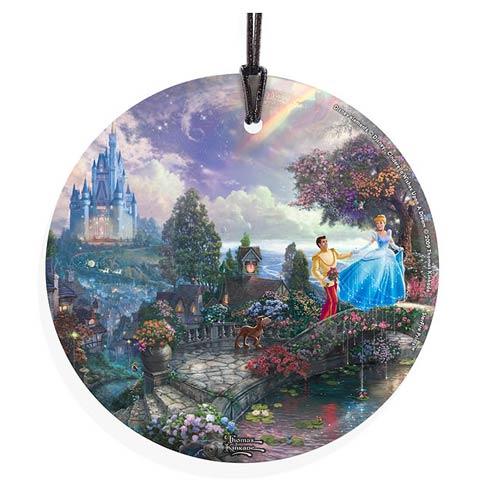 Cinderella-Thomas-Kinkade-Glass-Print