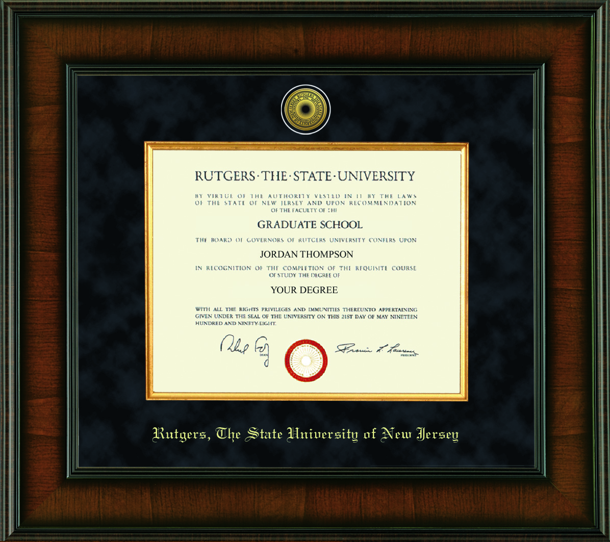 EarnItFrameIt Official School Diploma Frame Giveaway