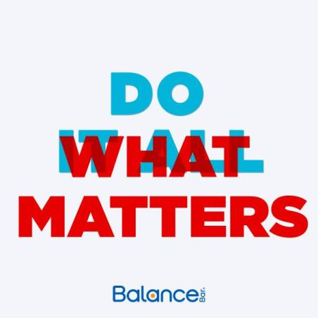Do What Matters