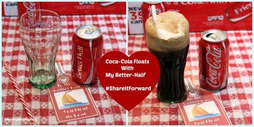 Coca Cola Floats-#ShareItForward