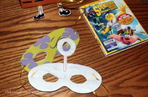 SpongeBob Free Prntable Masks