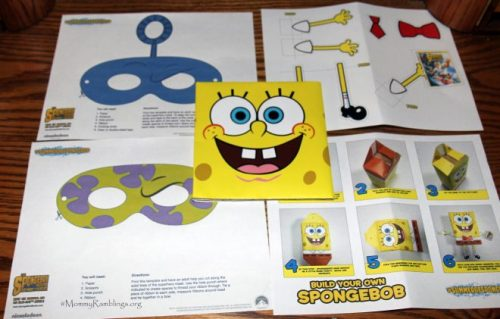 Spongebob Crafts 1
