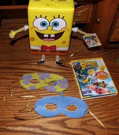 spongebob crafts