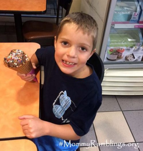 Waffle Cone Baskin-Robbins