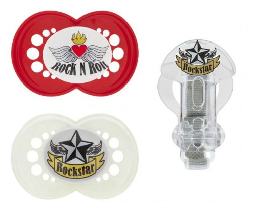 MAM Boy Rock and Roll Value Pack Pacifier