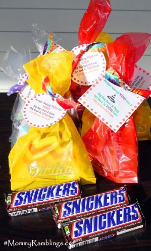 Snickers gift bags 3