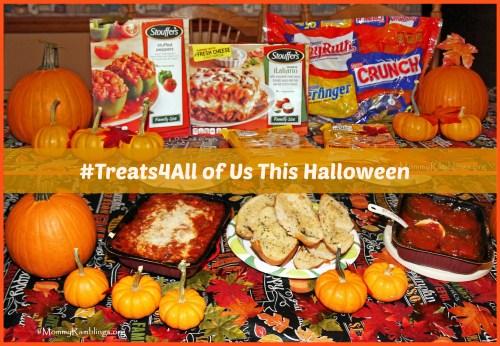 #Treats4All, Halloween-Stouffers-Nestle-Mommy Ramblings