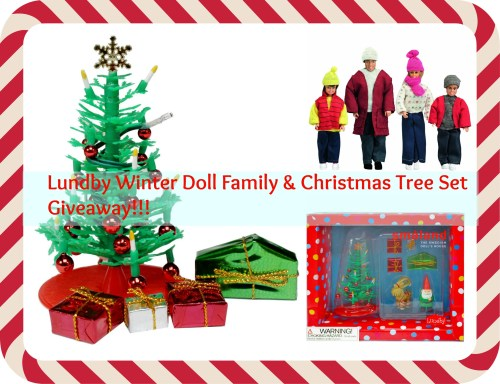 Lundby Doll family collage