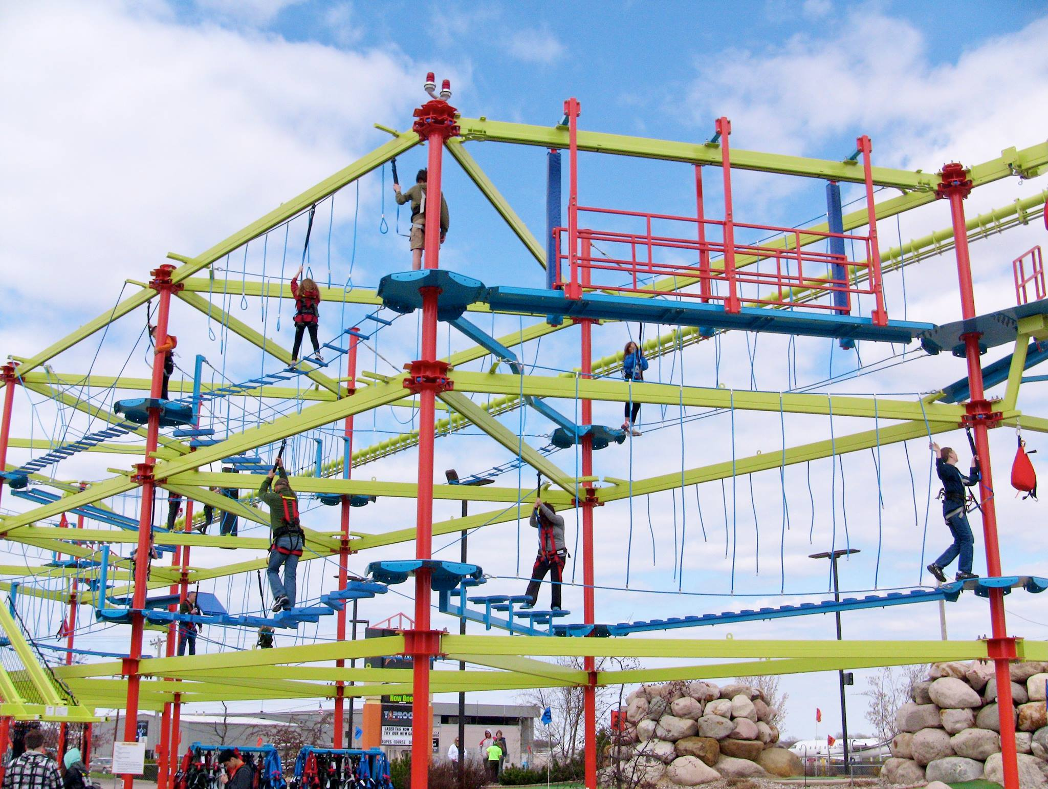 ropes course Looking for a great way to build unity within your group while having a ton of fun then look no further than trinity pines challenge course our high ropes course.