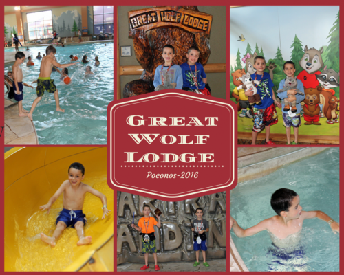 Great Wolf Lodge Collage