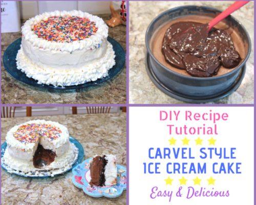 Amazing Make A Carvel Style Ice Cream Cake At Home Funny Birthday Cards Online Necthendildamsfinfo