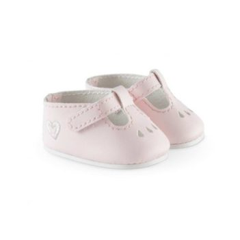Corolle Pink Ankle Strap Shoes For Doll