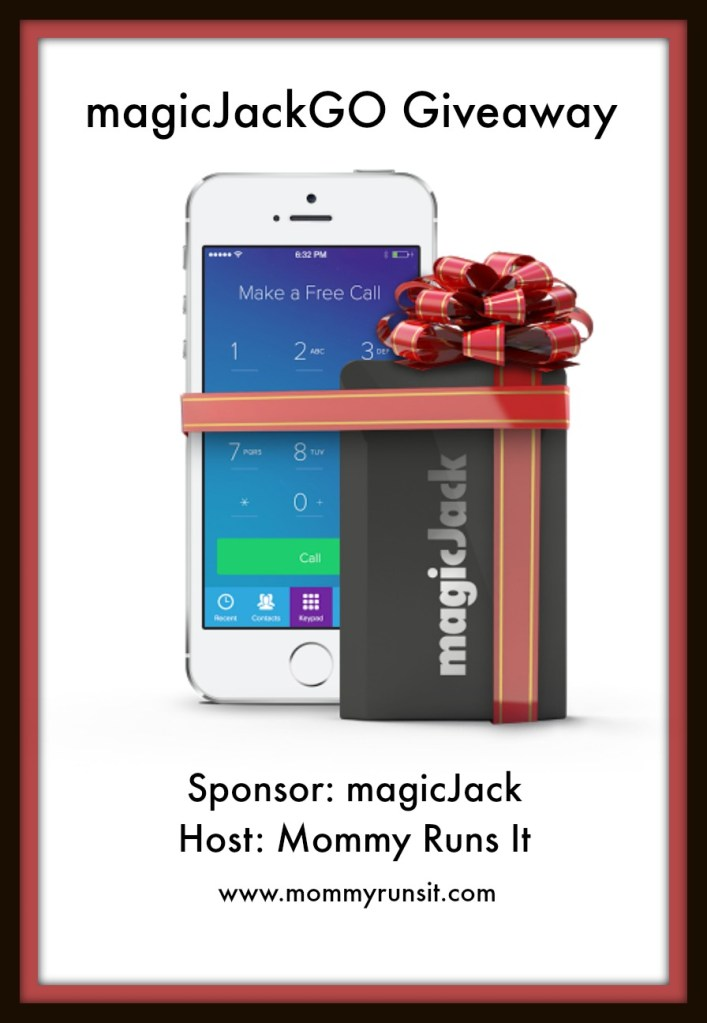magicJackGO – Holiday Gift Guide + Giveaway