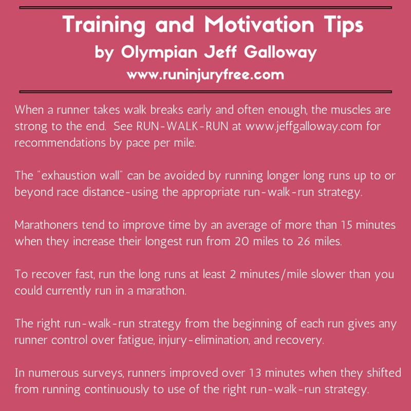 Jeff Galloway Marathon Training Tips | Mommy Runs It  #running