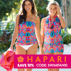 Giveaway: $125 Gift Code for Hapari Swimwear (closed)