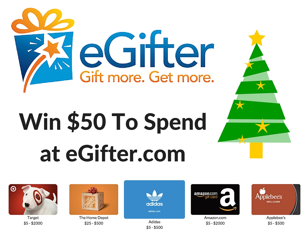 Giveaway: $50 credit for eGifter.com #2015HGG