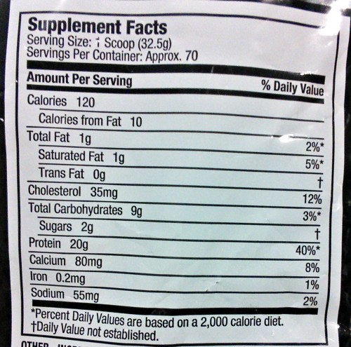 How to Read Labels on Protein Supplements | Mommy Runs It