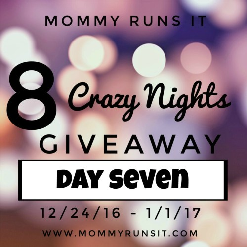 8 Crazy Nights of Giveaways: Day Seven | Mommy Runs It | #8crazynightsgiveaway
