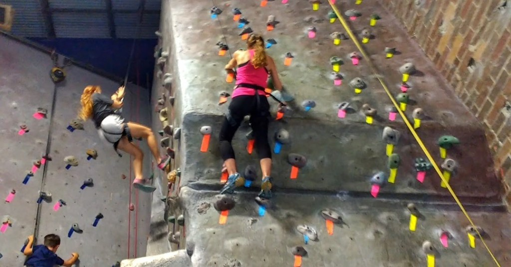 Our Family's Indoor Rock Climbing Adventures