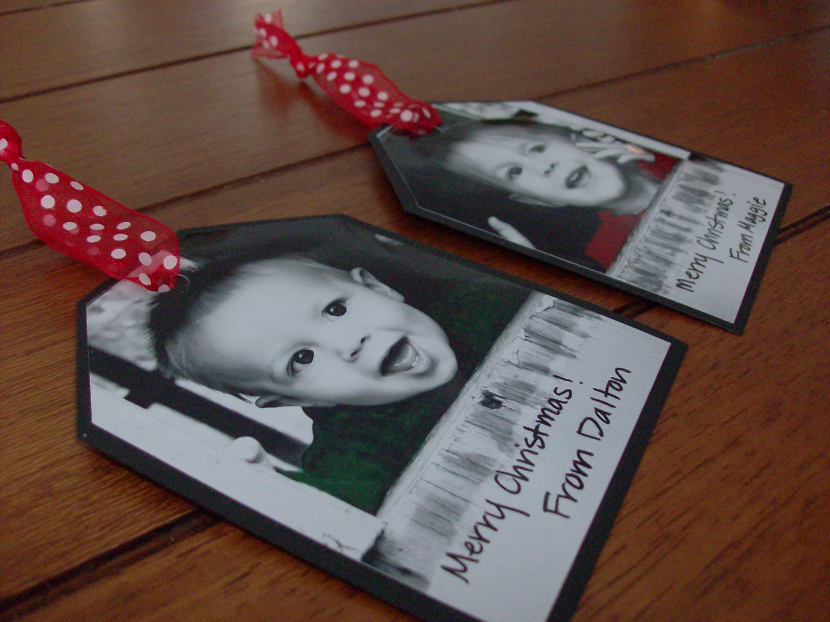 Homemade Photo Gift Tags Mommysavers
